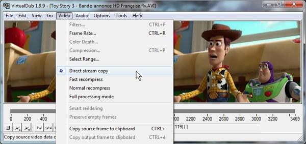 capture d'écran VD 3