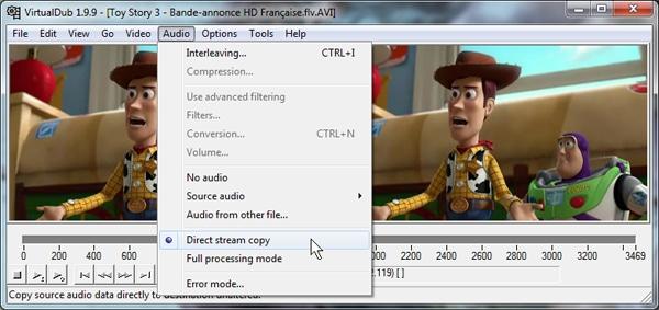 capture d'écran VD 4